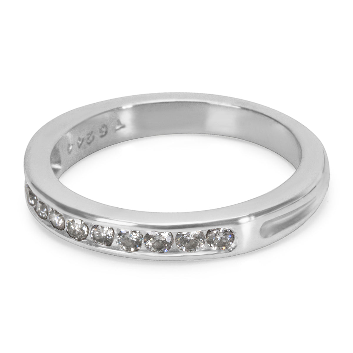 Tiffany & Co. Diamond Wedding Band in Platinum (0.22 CTW)
