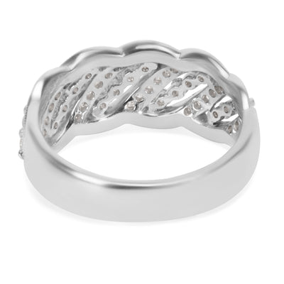 BRAND NEW Diamond Fashion Ring in 14K White Gold (0.68 CTS)