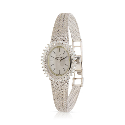 Omega Dress Dress Vintage Ladies Watch in 14k White Gold