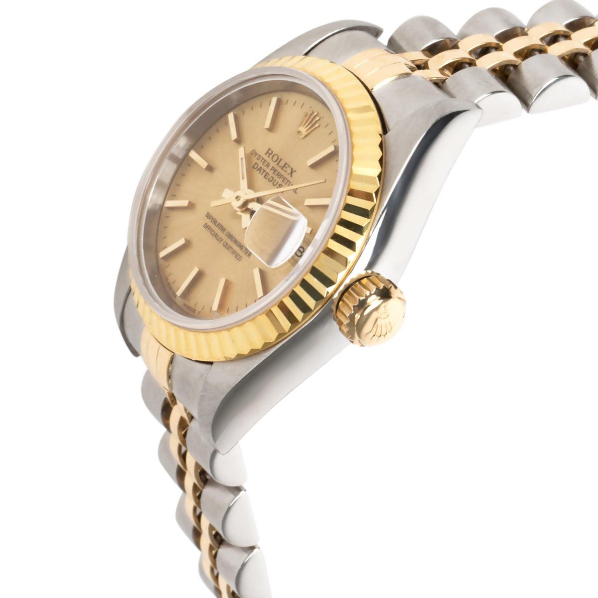 Rolex Datejust 69173 Women's Watch in 18K Yellow Gold/Steel