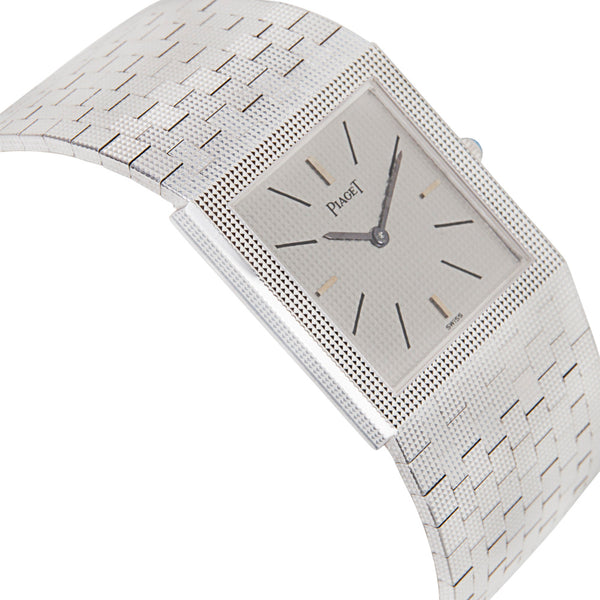 Piaget Dress 9131 04 Ladies Watch in 18K White Gold