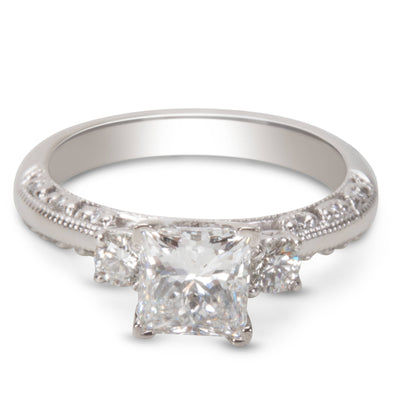 BRAND NEW GIA Certified Tacori Diamond Engagement Ring (1.11 CTW)