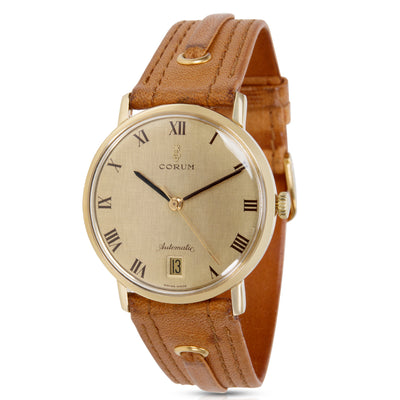 Corum Dress 89127 Unisex Watch in Yellow Gold