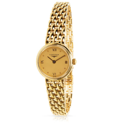 Longines Prestige L6. 107.6 Women's Watch in Yellow Gold