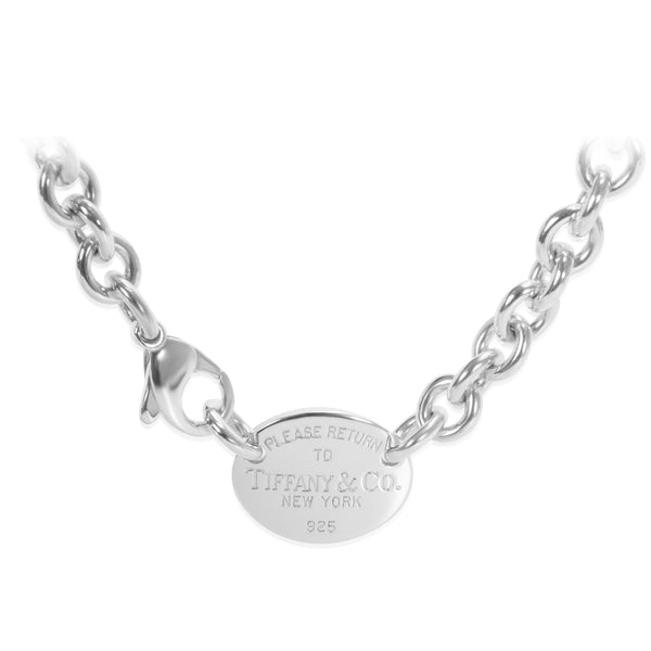 Tiffany & Co. 'Return to Tiffany' Necklace in Sterling Silver