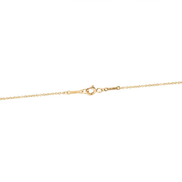 Tiffany & Co. Elsa Peretii Teardrop Pendant Necklace in 18K Yellow Gold