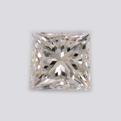GIA Certified Princess cut, H color, VVS2 clarity, 1 Ct Loose Diamonds
