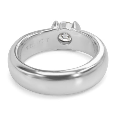 Tiffany & Co. Etoile Diamond Engagement Ring in Platinum (0.70 CTW)