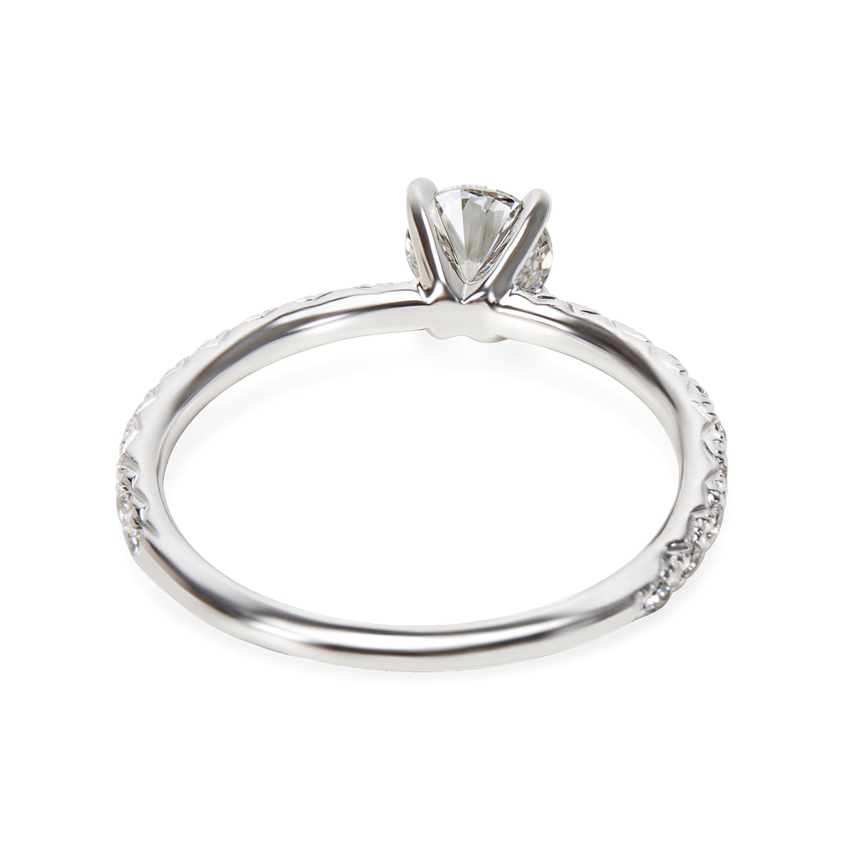 GIA Certified James Allen Diamond Engagement Ring in 14KT White Gold 0.90 ctw