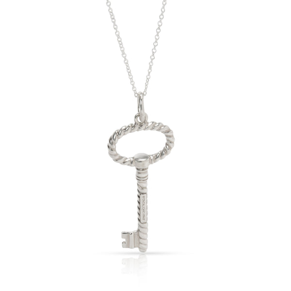 Tiffany & Co. Vintage Key Pendant in Sterling Silver