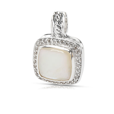 David Yurman Mother of Pearl Albion Pendant in Sterling Silver