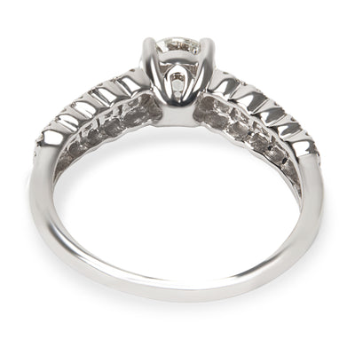 Diamond Engagement Ring in 14K White Gold 1.00 CTW