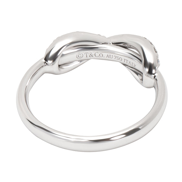 050d63d8e ... CTW); Tiffany & Co. Diamond Infinity Ring in 18K White Gold (0.13 ...