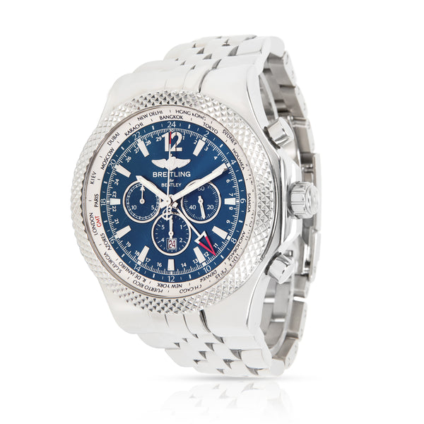 Breitling Bentley GMT A47362 Men's Watch in  Stainless Steel