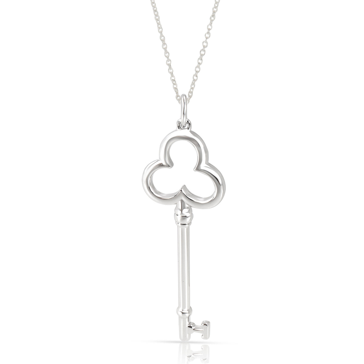 Tiffany & Co. Key Pendant in Sterling Silver