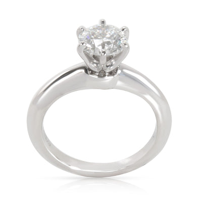 Tiffany & Co. Diamond Solitaire Engagement Ring in Platinum (0.93 ct F/VVS1)