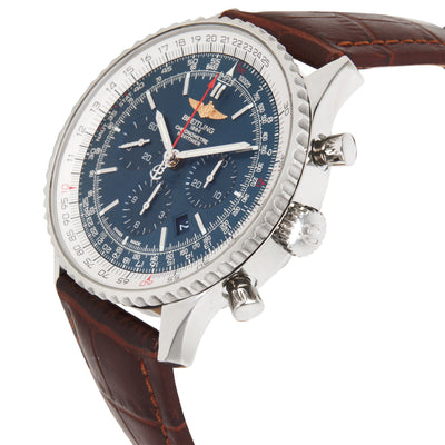 Breitling Navitimer 01 AB012721/C889 Men's Watch in  Stainless Steel