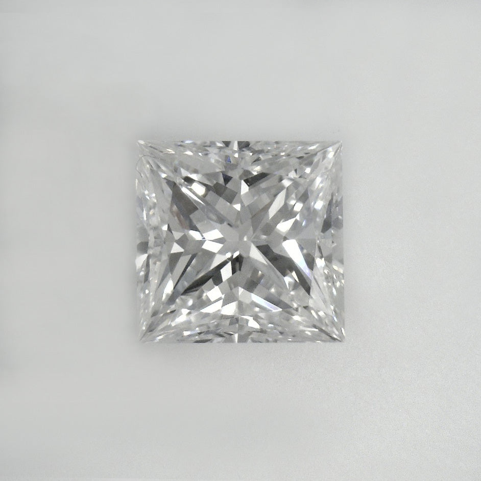 GIA Certified Princess cut, H color, VS1 clarity, 1.06 Ct Loose Diamonds