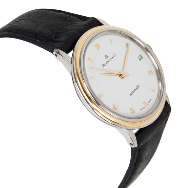 Blancpain Villeret 1195-1318 Men's Watch in 18kt Stainless Steel/Yellow Gold