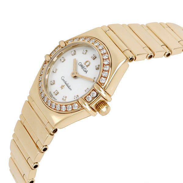 Omega Constellation 1164.75.00 Women's Watch in 18kt Yellow Gold