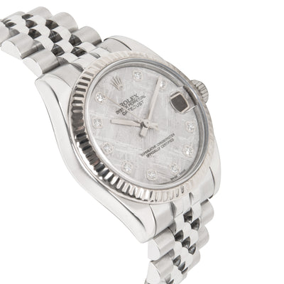 Rolex Datejust 178274 Women's Watch in 18kt Stainless Steel/White Gold