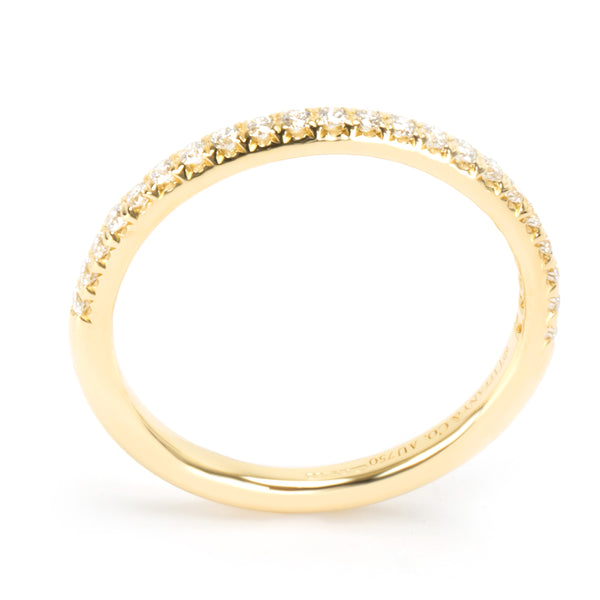 Tiffany & Co. Diamond Wedding Band in 18K Yellow Gold
