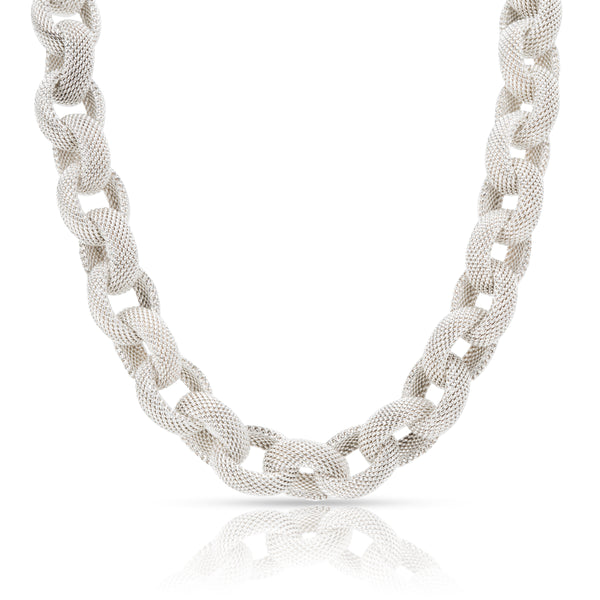 Tiffany & Co. Somerset Link Necklace in  Sterling Silver