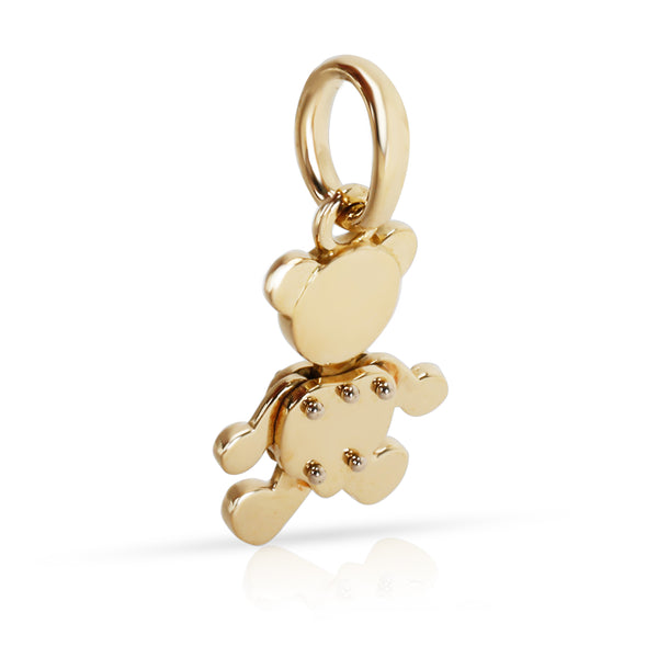 Pomellato Teddy Bear Charm in 18K Yellow Gold