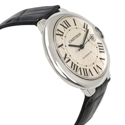 Cartier Ballon Bleu W69016Z4 Men's Watch in  Stainless Steel