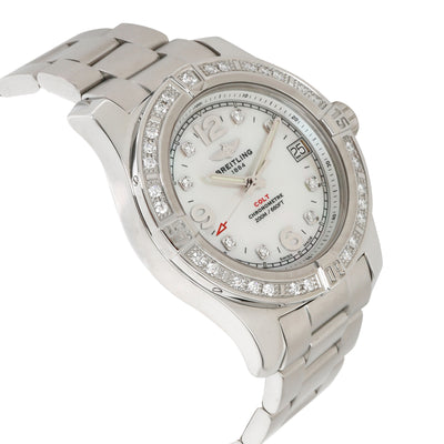 Breitling Colt 36 A7438953/A771 Women's Watch in  Stainless Steel