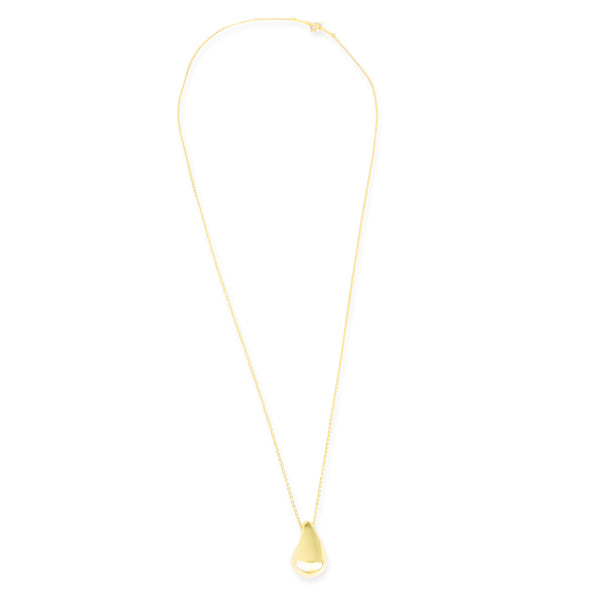 Tiffany & Co. Elsa Peretti Teardrop Pendant in 18k Yellow Gold