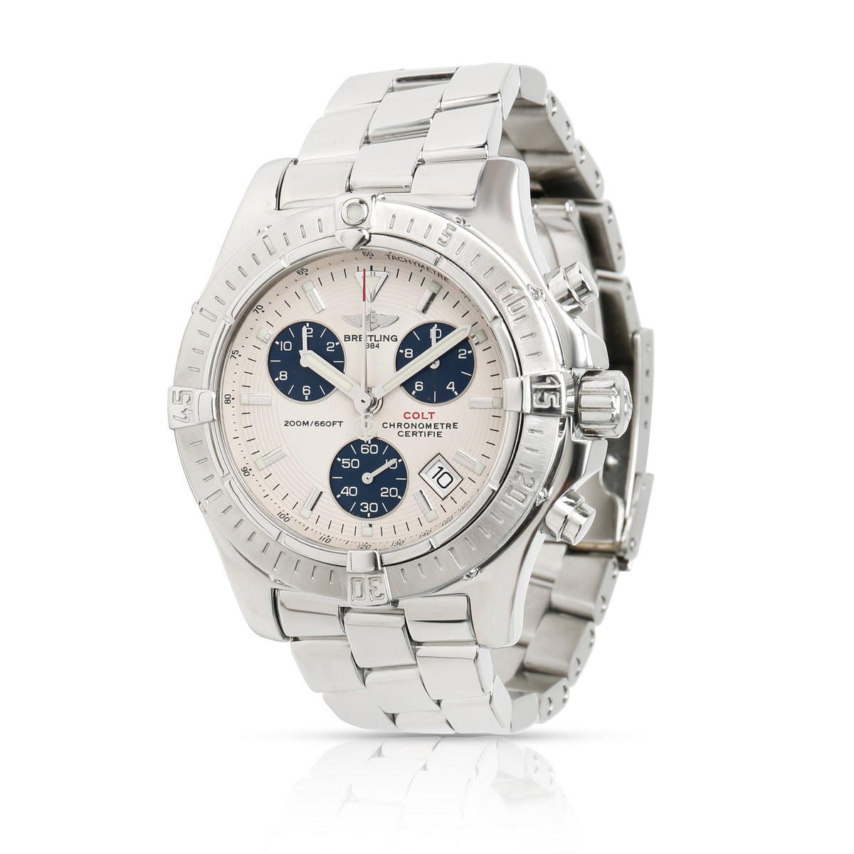 Breitling Colt Chrono A73380 Men's Watch in  Stainless Steel