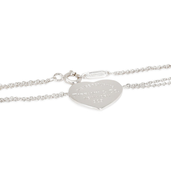 Tiffany & Co. Heart Tag Bracelet in  Sterling Silver