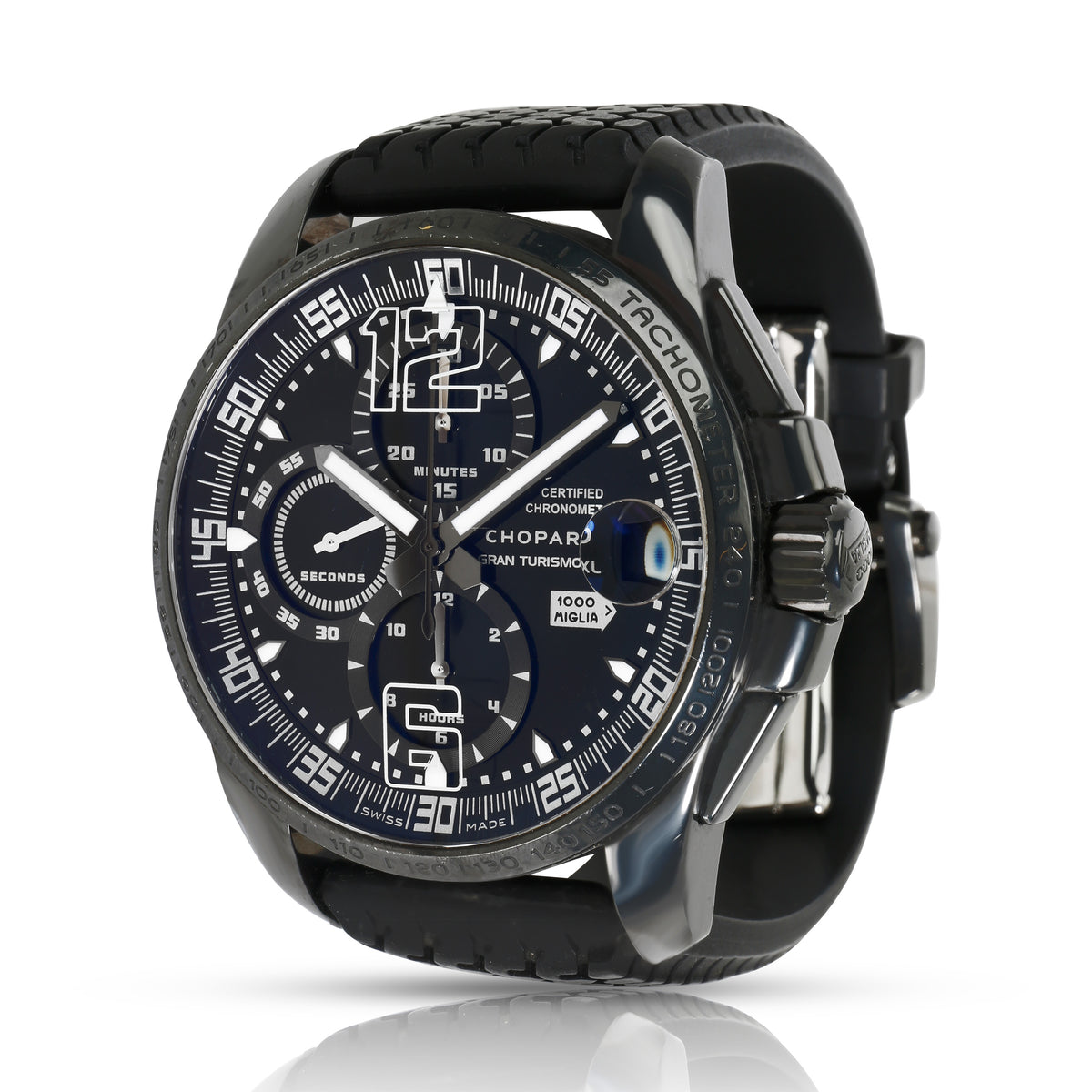 Chopard Gran Turismo XL Speed Black 3 8459 Men's Watch in  PVD