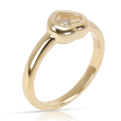 Chopard Happy Hearts  Diamond Ring in 18K Yellow Gold (0.05 CTW)