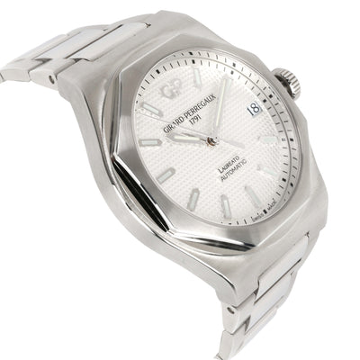 Girard Perregaux Laureato 81010-11-131-11A Men's Watch in  Stainless Steel