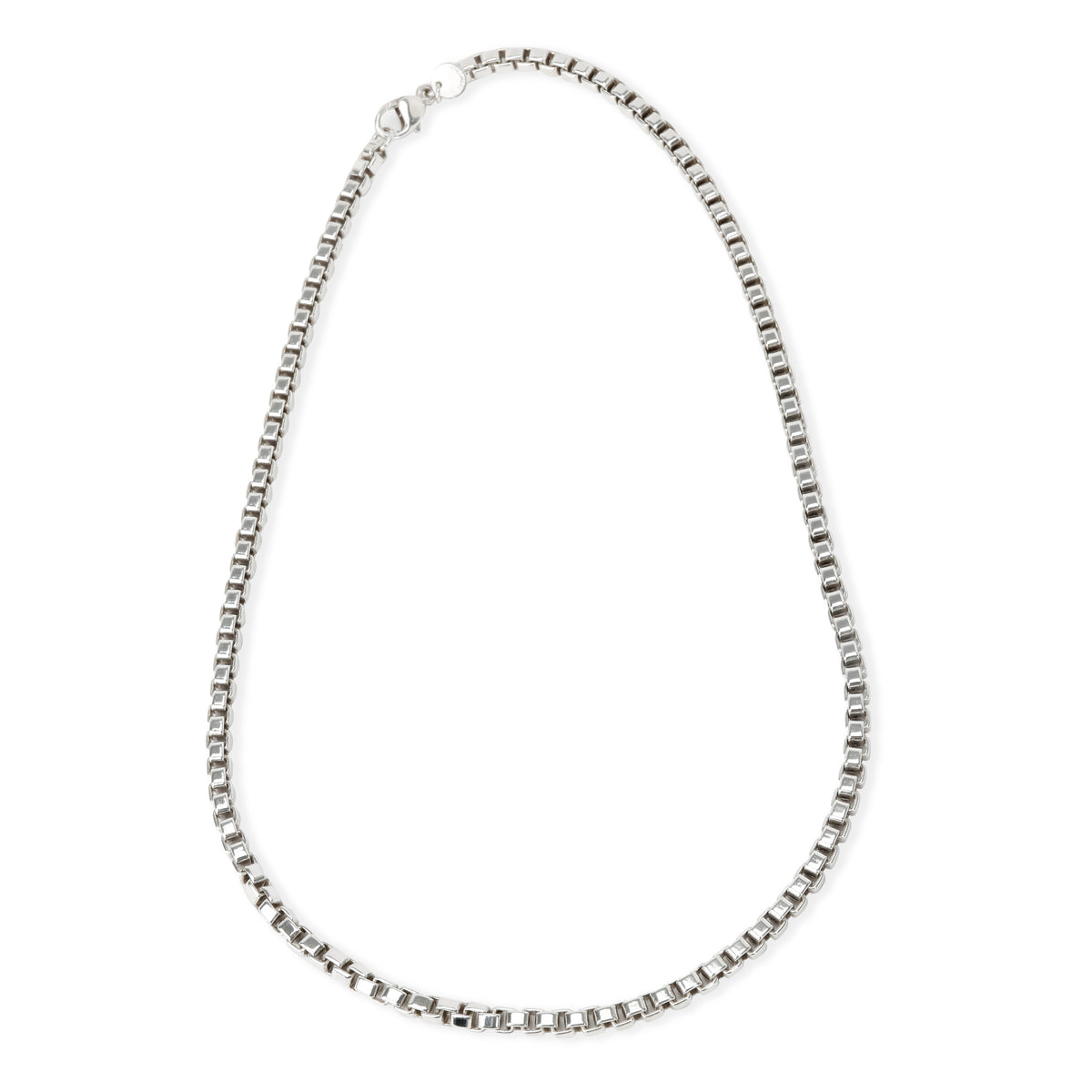 Tiffany & Co. Venetian Link Necklace in  Sterling Silver