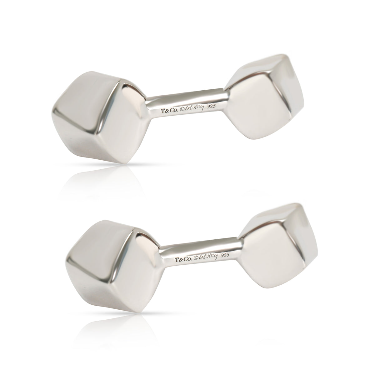 Tiffany & Co. Frank Gehry Torque Cufflinks in  Sterling Silver