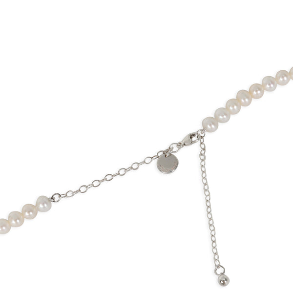 b79c62c7e Ziegfeld Fresh Water Pearl Necklace with Sterling Silver Clasp; Tiffany ...