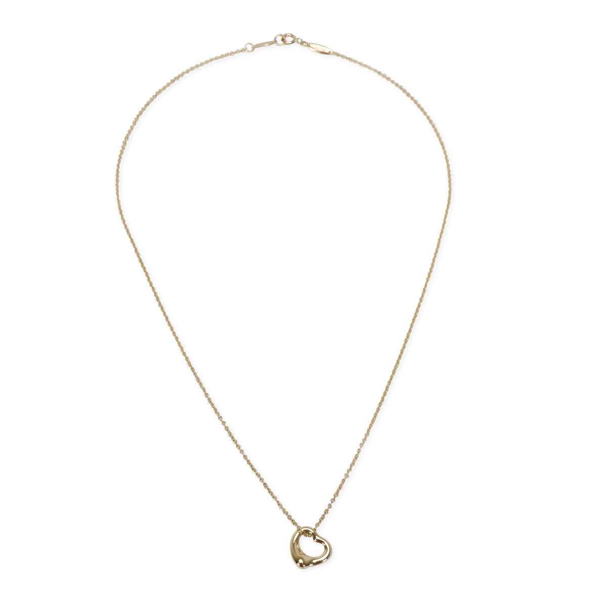 Tiffany & Co. Elsa Peretti Heart Pendant in 18K Yellow Gold