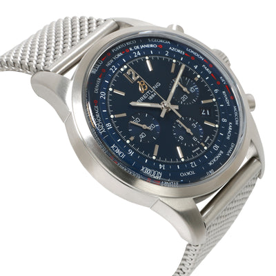 Breitling Transocean Chronograph Unitime AB0510U9/C879 Men's Watch in  Stainless