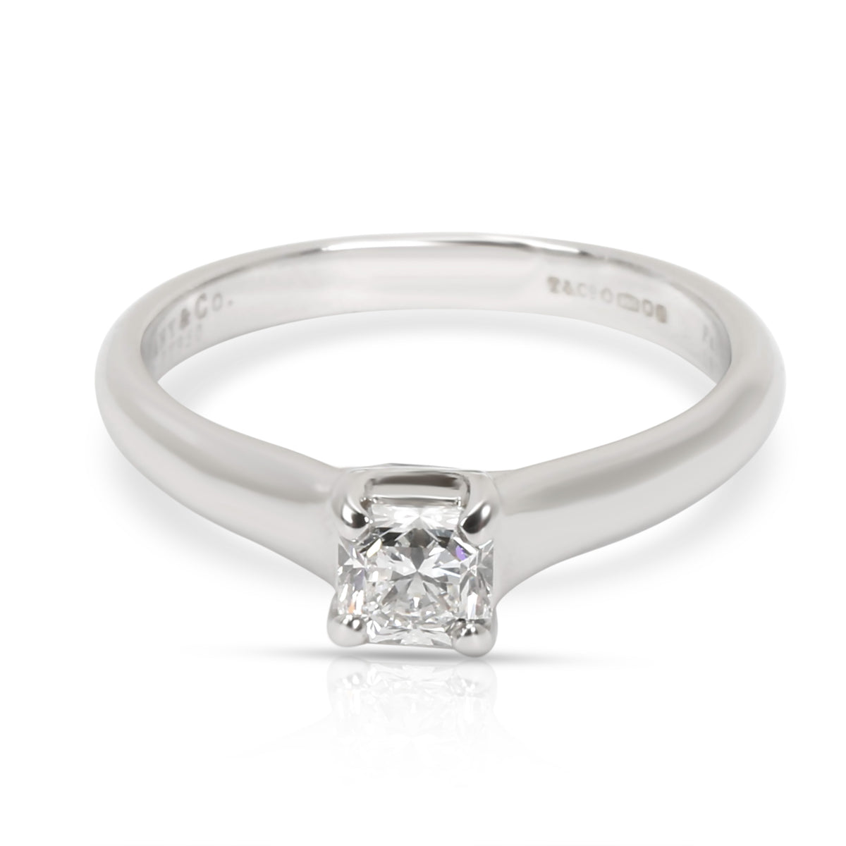 Tiffany & Co. Lucida Diamond Engagement Ring in  Platinum G VS1 0.36 CTW