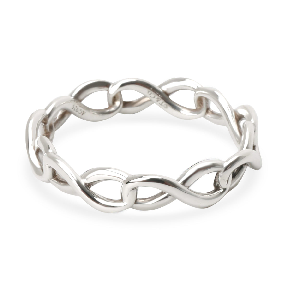 Tiffany & Co. Infinity Fashion Ring in  Sterling Silver