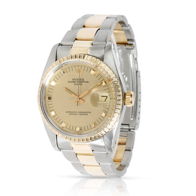 Rolex Date 1505 Men's Watch in 14kt Stainless Steel/Yellow Gold
