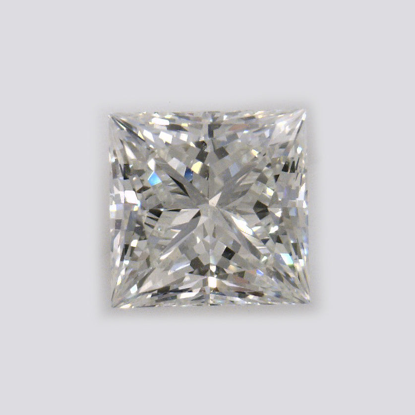 GIA Certified Princess cut, J color, VVS2 clarity, 0.74 Ct Loose Diamonds