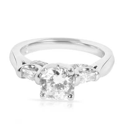 Verragio Diamond Engagement Ring Setting in Platinum (0.25 CTW)