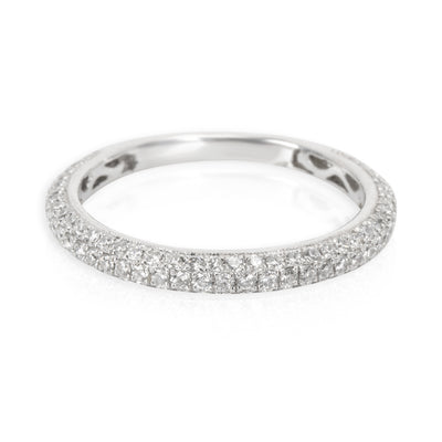 Simon G Diamond Band in 18K White Gold 0.55 CTW