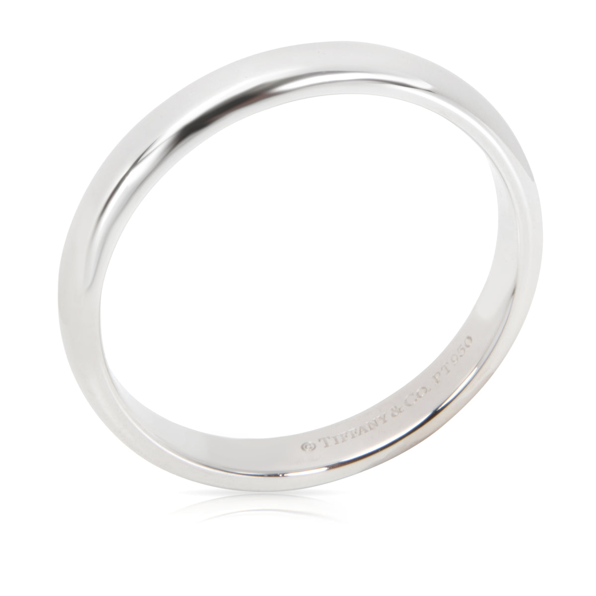 Tiffany & Co. Classic Wedding Band in  Platinum 3mm