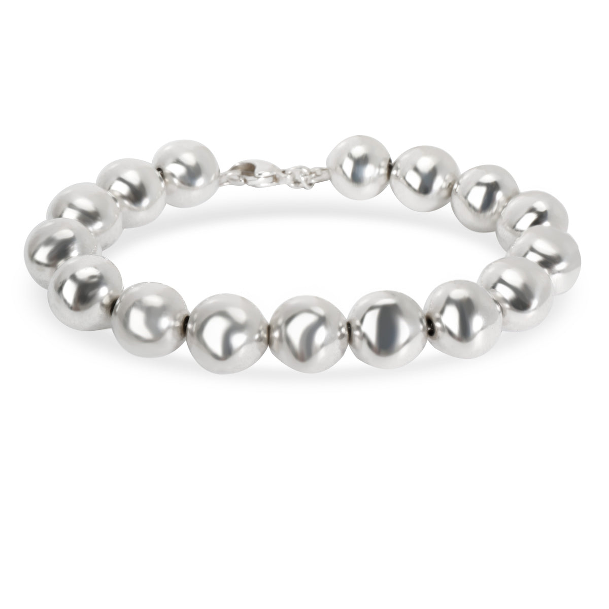 Tiffany & Co. Hardware Ball Bracelet in  Sterling Silver