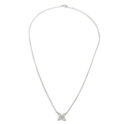 Tiffany & Co. Victoria Diamond Pendant in  Platinum 0.81 CTW